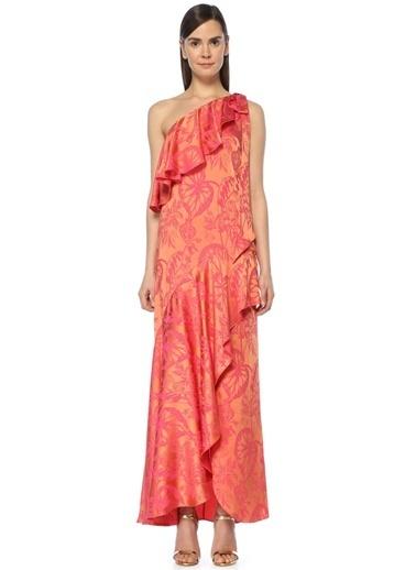 Temperley London Elbise Oranj